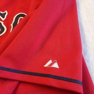 Majestic Shirts - MLB Majestic Authentic BOSTON RED SOX JERSEY